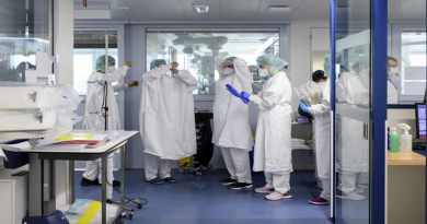 On the frontline at a Swiss hospital battling Covid-19