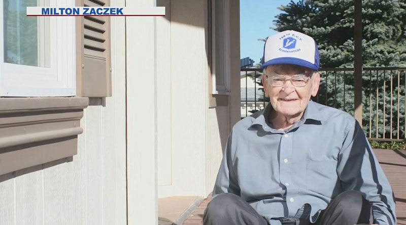 101-year-old man survives Spanish Flu, World War II and COVID-19